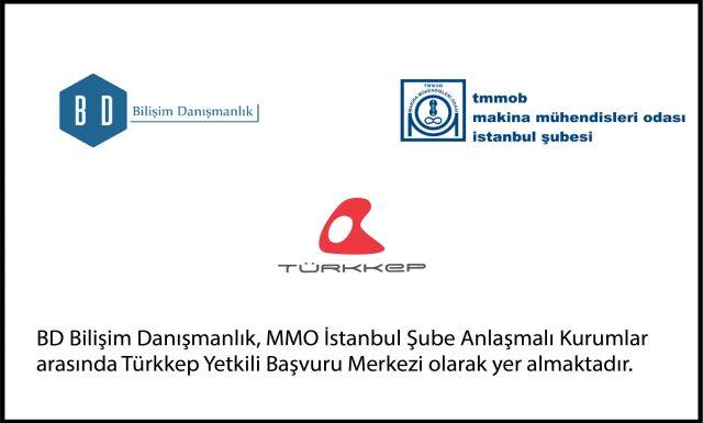 Türkkep ile MMO İstanbul Şube Anlaşmalı Kurumlar